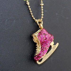 SAUTOIR ET COLLIER Conception de bijoux à la mode Mignon Vintage Roug