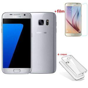 SMARTPHONE RECOND. Samsung Galaxy S7 32GO Argent SM G930U remise à ne