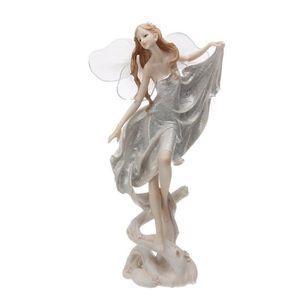 Empereur porcelaine Ange Avec Bébé ANTIK Bleu 12 CM de Noël Angel Christmas