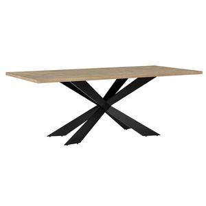 TABLE À MANGER COMPLÈTE en.casa Table de salle à manger pour 6-8 chaises c