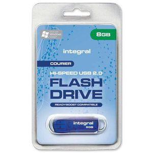 CLÉ USB Integral Courier - Lecteur flash USB - 8 Go
