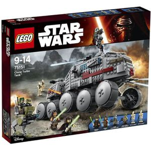 ASSEMBLAGE CONSTRUCTION LEGO® Star Wars™ 75151 Clone Turbo Tank™