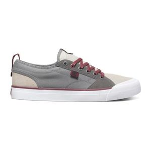 SKATESHOES Chaussures homme DC EVAN SMITH S olive grey