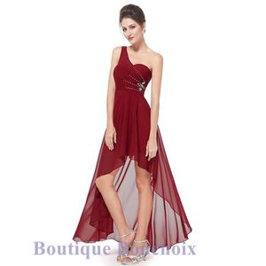 ROBE DE CÉRÉMONIE Robe de Soirée Cérémonie Cocktail Mariage Femme Lo