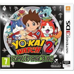 JEU 3DS Yo-Kai Watch 2 Esprits Farceurs 3DS+2 Figurines