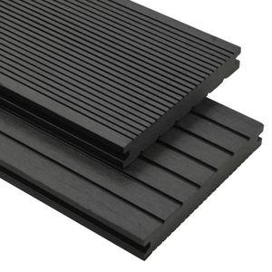 CLÔTURE - GRILLAGE Panneaux de terrasse solides - accessoires WPC 30m