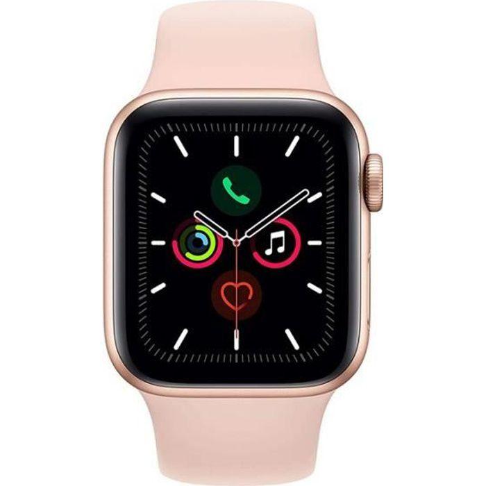 Apple Watch Series 2 only WiFi Boîtier en Aluminium 42 mm avec Bracelet Sport Rose
