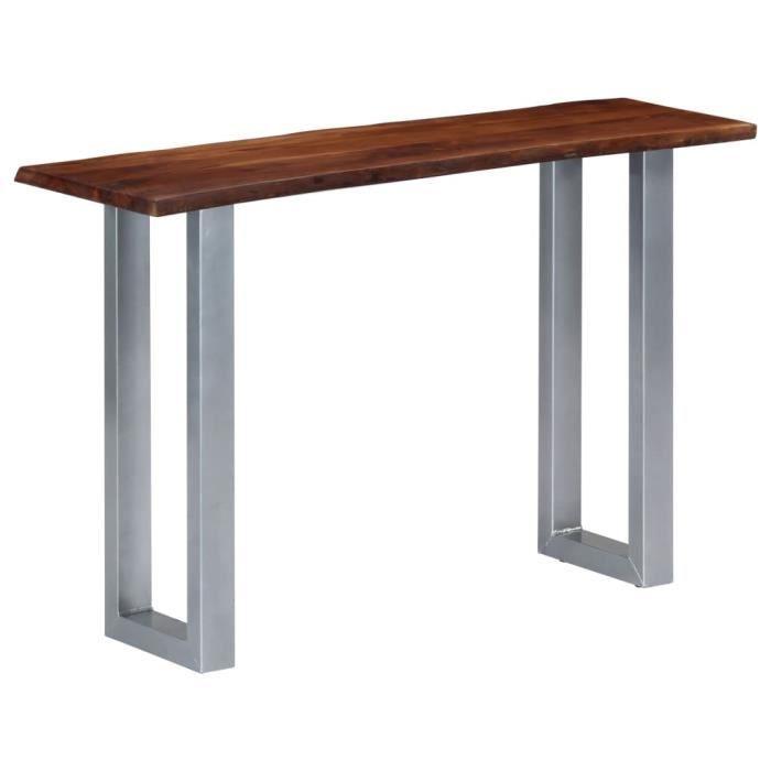 *Neuf2832Parfait- Table Console Table d'Entrée Vintage décor - Table de drapier - Armoire console Table d'appoint Console Style indu