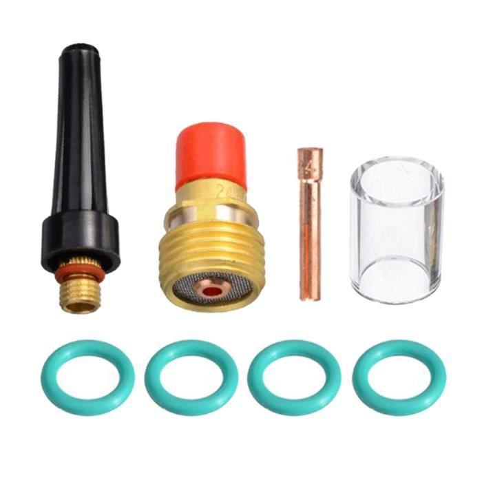 8x TIG Gaz Lens Kit TIG Collet Corps Fit Torche de Soudage Tig WP 9 20 25