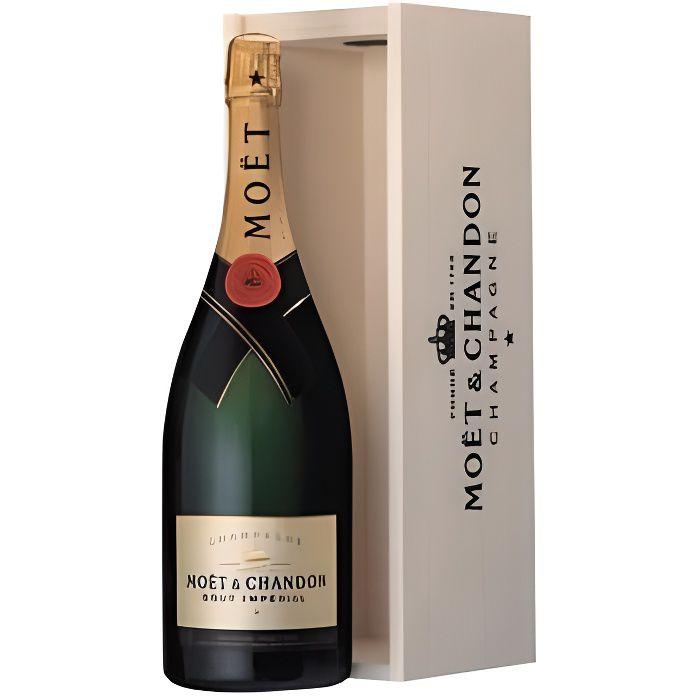 Moët & Chandon Brut Magnum Coffret Bois - Champagne AOC