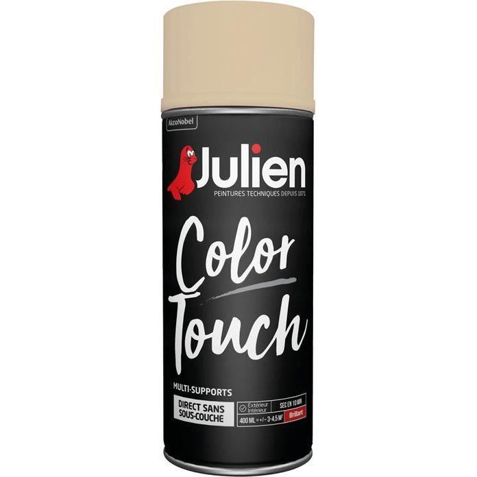 Peinture aérosol Julien ivoire 400ml Ral 1015