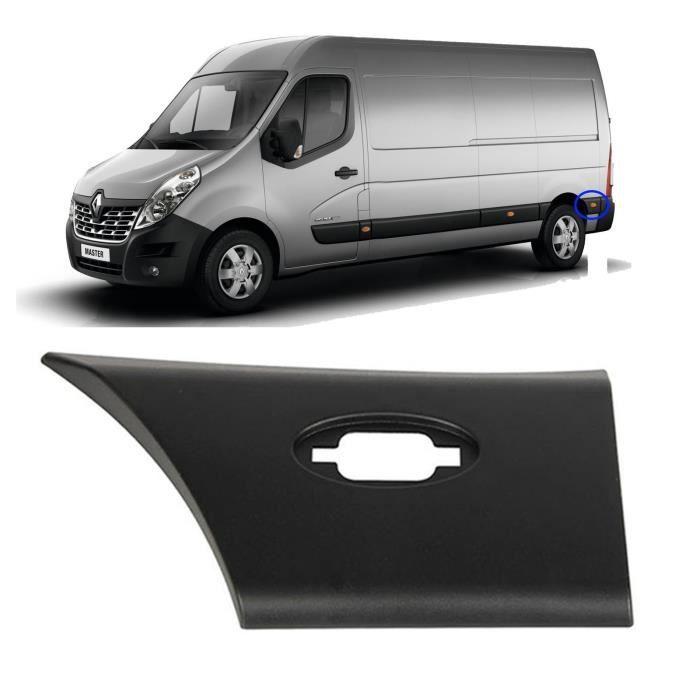FINAO FRANCE - Cache panneau arrière gauche (grand) pour Renault Master 3, Opel Movano III et Nissan NV400