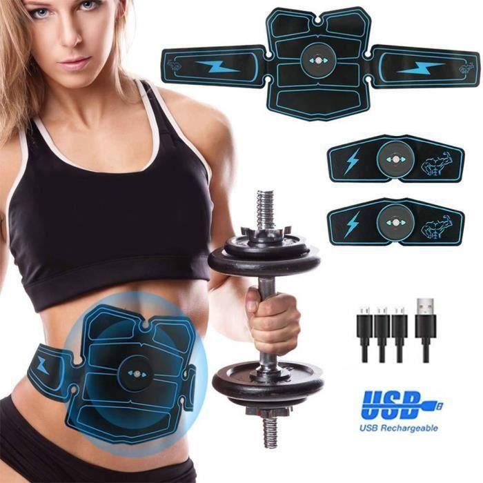 Electrostimulateur Musculaire, électro-Stimulation Muscle Trainer, EMS Ceinture Abdominale,Appareil Abdominal-,-isCdav-:false,-pri