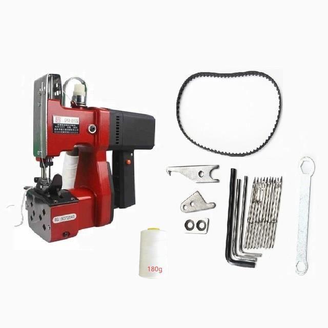 MACHINE A COUDRE,Elektrische naaimachine surjeteuse machine à coudre draagbare automatische verpakking machine - Red A