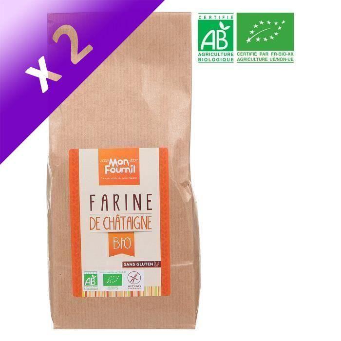 [LOT DE 2] MON FOURNIL Farine de châtaigne bio - 350 g