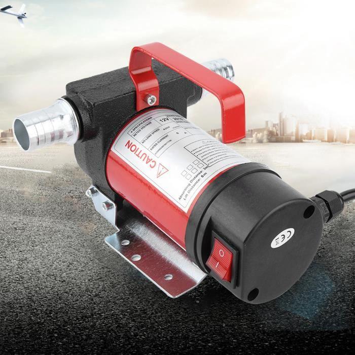 ALA Cuque 12V 160W Pompe d'Aspiration d'Huile Portable 40L-Minute Pompe de Transfert Diesel-Huile pour Quad Auto Moto