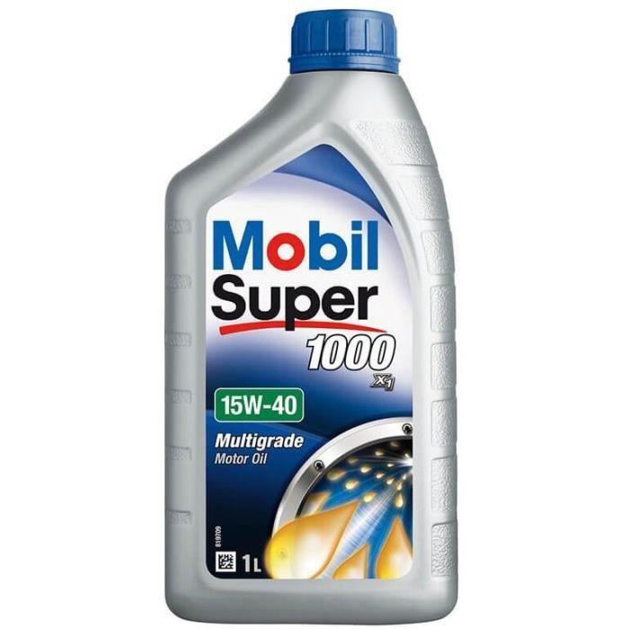 MOBIL Huile minérale pour moteur essence S1000 - 15W40 - 1 L