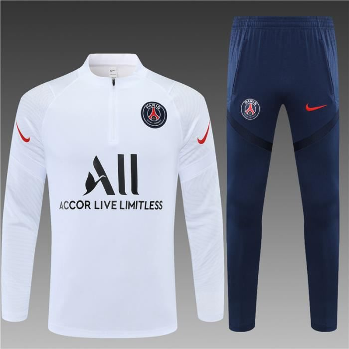 Maillot de Foot AJAX Saint-Germain - Maillot Foot Enfants Homme 20-21 Survêtements Maillot de Foot- Haut + Pantalon