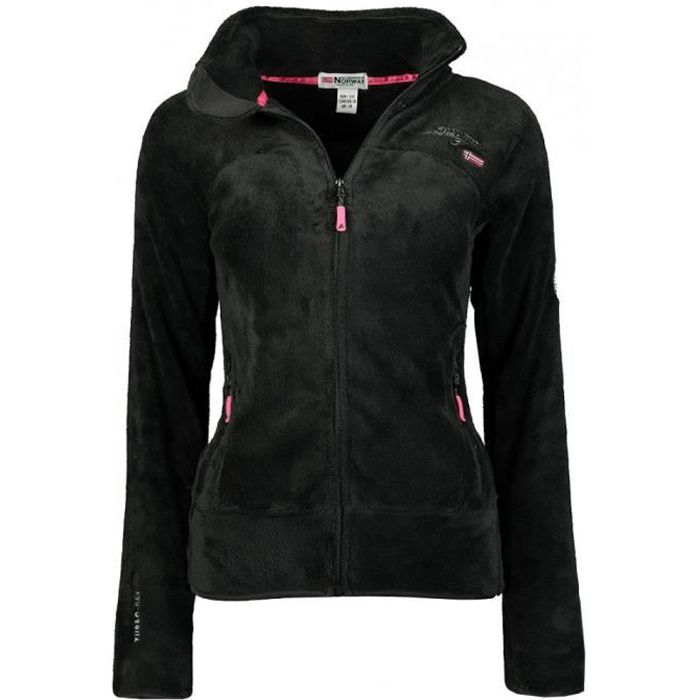 Veste Geographical Norway modele polaire upaline fille - Noir