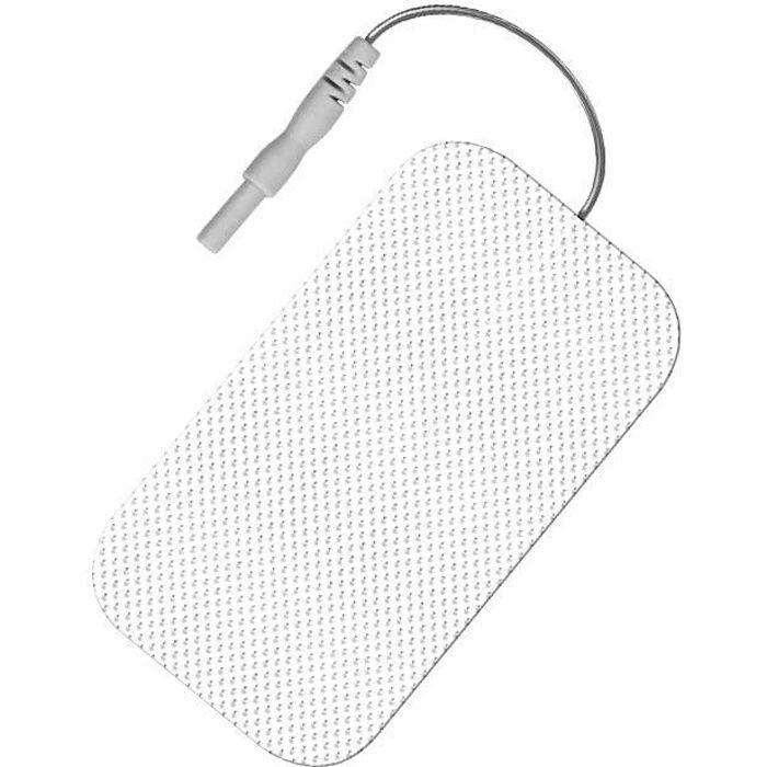 4 électrodes rectangulaires compatibles avec électrostimulateurs sport-elec Sport-Elec Electrostimulation