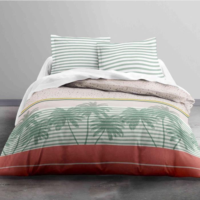 Parure de lit Today Sunshine Palms 100% coton - taille:220 x 240 cm