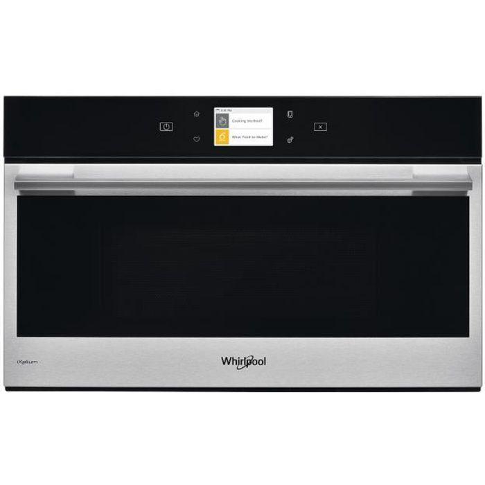 Whirlpool W9 MD260 IXL, Intégré, Micro-onde combiné, 31 L, 1000 W, Tactil, Noir, Acier inoxydable