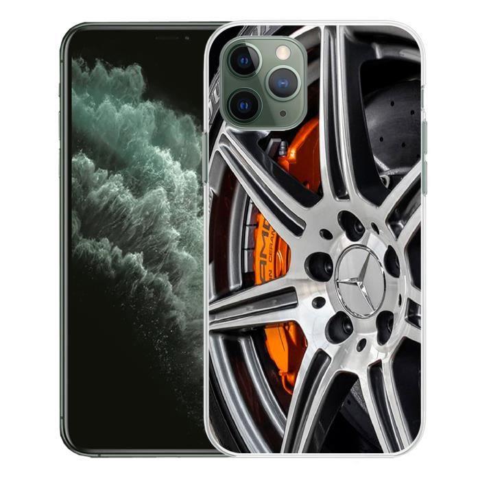 Coque Pour iPhone 11 Pro Max Jante Mercedes Amg - Cdiscount Téléphonie