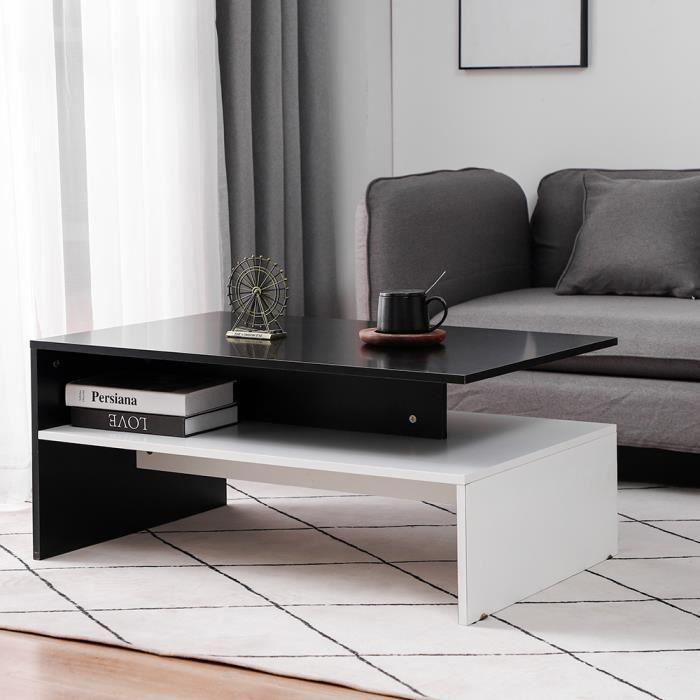 TABLE BASSE 90*42*60 cm Table Basse Contemporaine Table de Sal