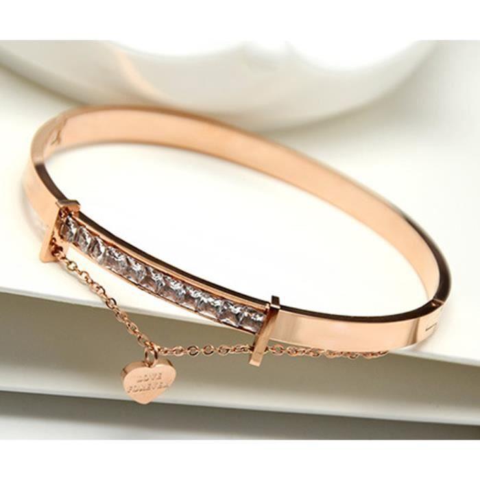 bracelet femme je taime
