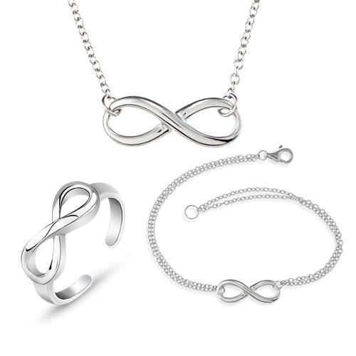 parure collier bracelet argent