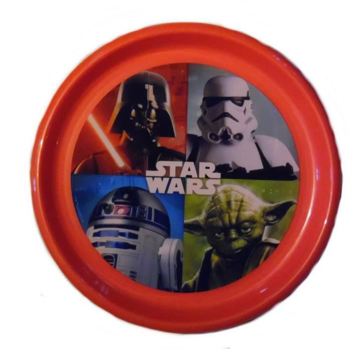 assiette plate star wars disney enfant achat vente. Black Bedroom Furniture Sets. Home Design Ideas