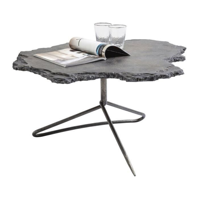 Cheap cool table basse table basse vulcano kare design with table kare design with table ronde - Table ronde extensible magique ...