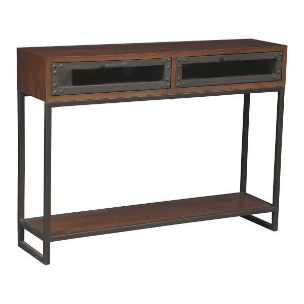 console industrielle franklin achat vente console console industrielle franklin cdiscount. Black Bedroom Furniture Sets. Home Design Ideas