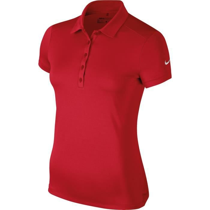 Nike Polo Femme Rouge Rouge Achat Vente Polo Soldes Des