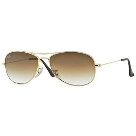Ray Ban Aviator Marron Doré