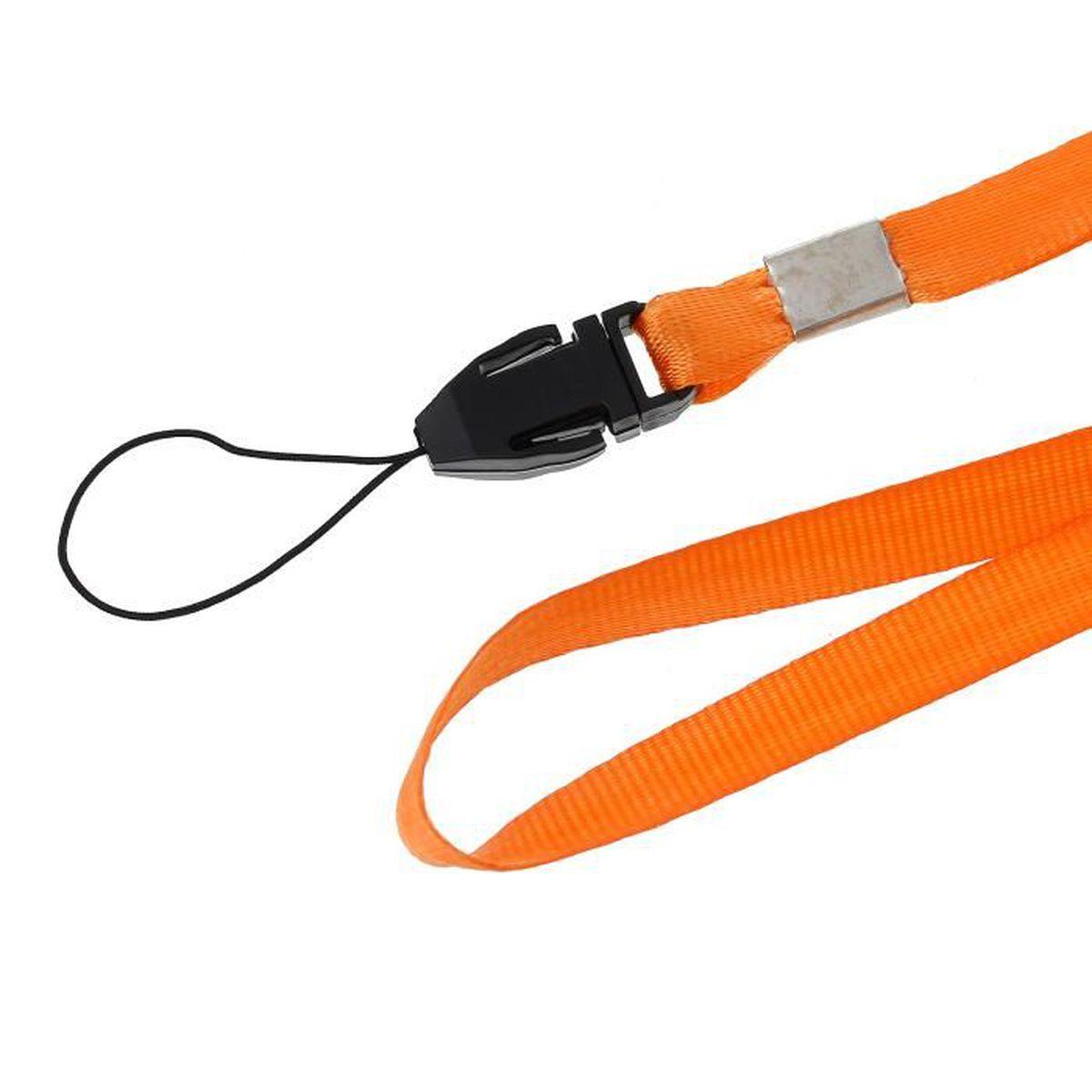Sécurité sifflet-Orange en Plastique Convient pour D de E Kit liste livré avec cordon