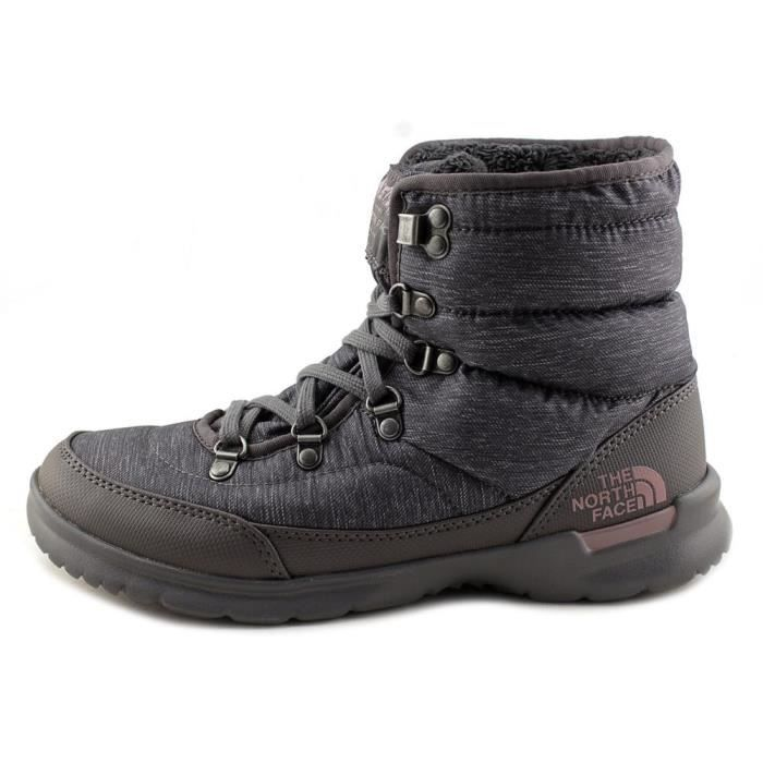 The North Face Thermoball Lace II Femmes US 8 Gris Botte d'hiver VxAysz34