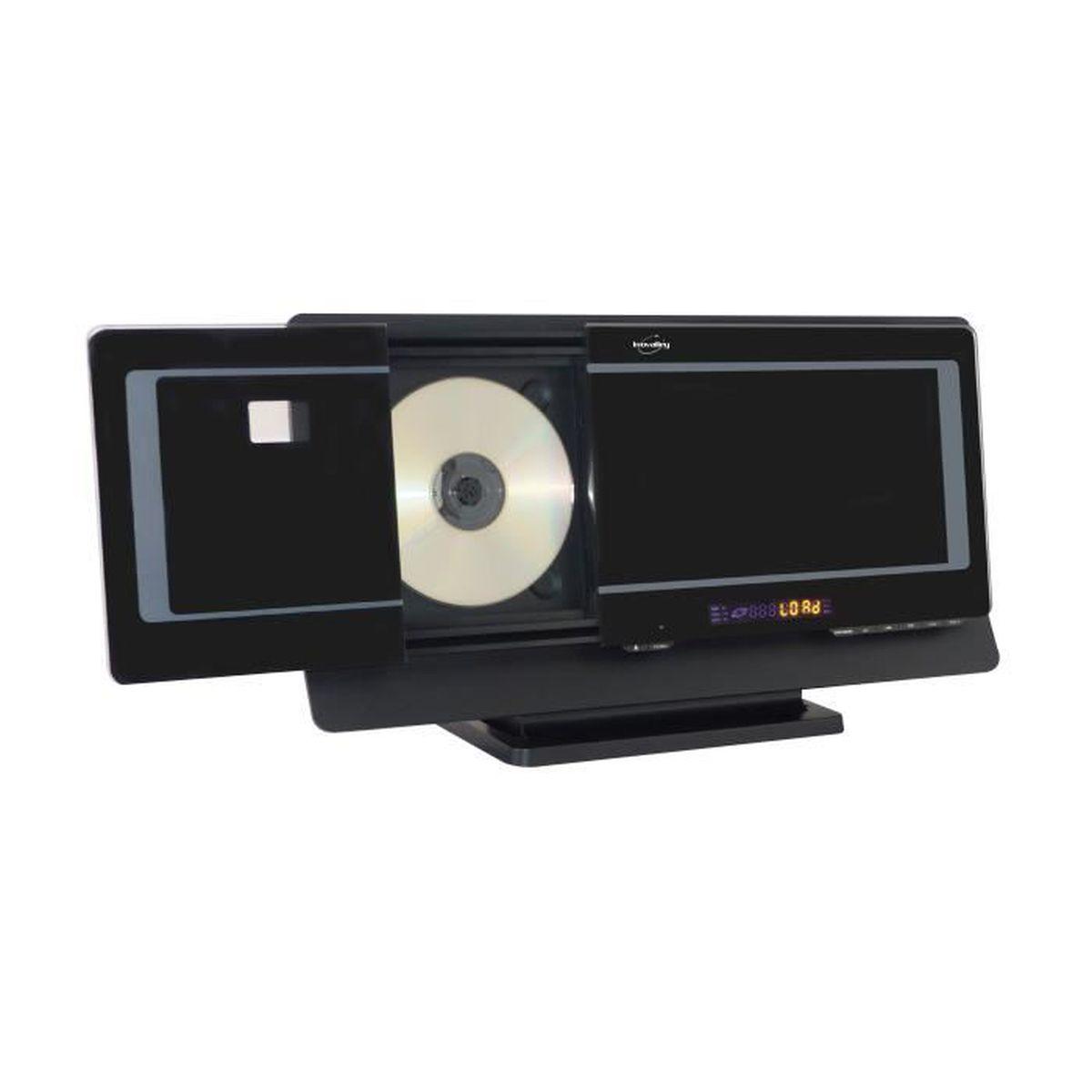 Meuble Tv Hifi Intégré chaine hifi lecteur dvd- cd bluetooth ch32dvd - meuble hifi