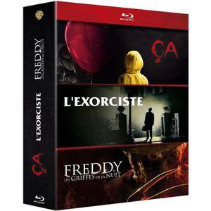 DVD SÉRIE Coffret Blu-Ray Horreur incontournables, 3 films :