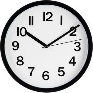 HORLOGE - PENDULE Horloge - Diamètre : 22 cm - Noir