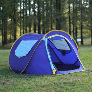 TENTE DE CAMPING 3-4person Tente Pop-up Dôme - Configuration automa