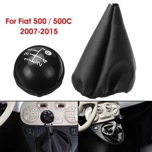 1Pcs Bouton De Vitesse Automatique 5 Vitesses De Voiture pour Fiat 500 500C Panda 2003-2012 Gris