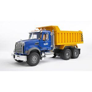 VOITURE - CAMION BRUDER - 2815 - Camion benne MACK - Echelle 1:16