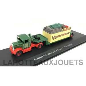 VOITURE - CAMION ATLAS SCAMMELL contractor & Load' PAT COLLINS