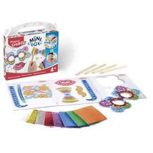 JEU DE MOSAIQUE MAPED CREATIV - Mini Box - Stickers Mosaique Photo