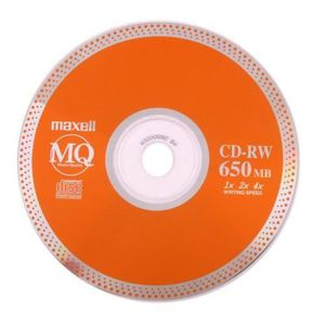 CD - DVD VIERGE Pack de 10 CD-RW vierge 650MB / 12cm