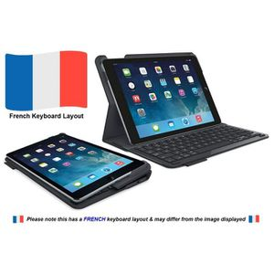 CLAVIER D'ORDINATEUR Logitech 920-006581 iPadAir2 Étui Clavier   Type