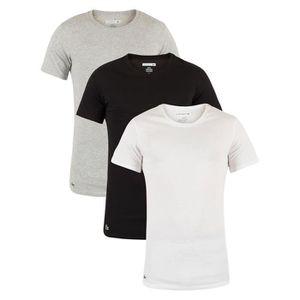 T-SHIRT Lacoste Homme Paquet de 3 Slim Fit Logo T-shirts,