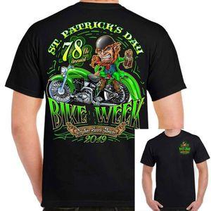 T-SHIRT st patricks - journée chemise la semaine de vélo e