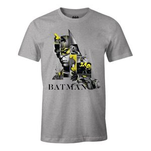 T-SHIRT T-shirt Batman DC Comics - Batman Strip 80th Anniv